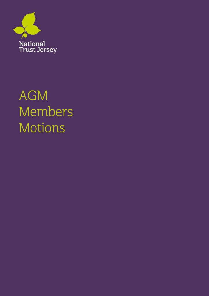 AGM Members-Motion